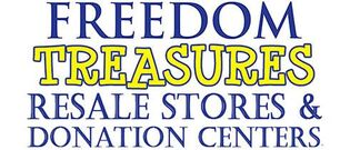 Freedom Treasures Resale Store Logo